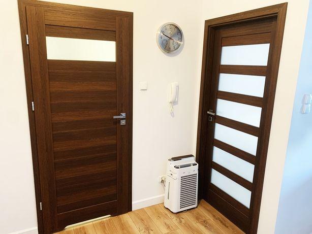 Drzwi i Ościeżnice do łazienki i pokoju 2szt Lewe Rozmiar 80 Jak Nowe