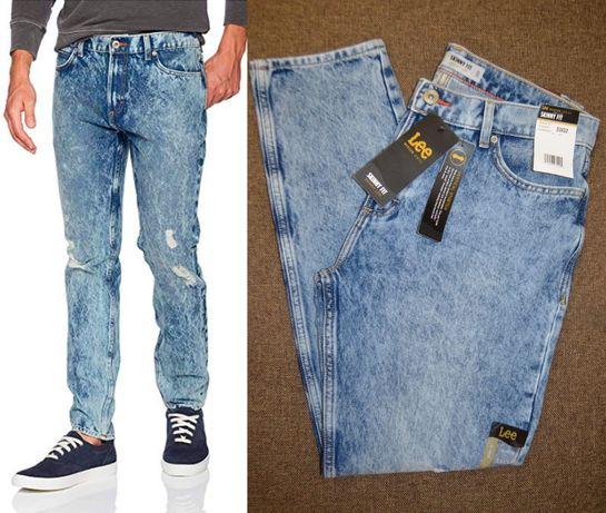 Винтажные джинсы Lee Modern Series Skinny 31W x 32L и 38W x 32L