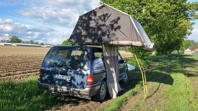 Namiot dachowy samochodowy użyczę