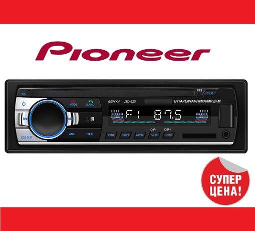 Автомагнитола Polarlander JSD 520 1 DIN Bluetooth магнитола для автомо