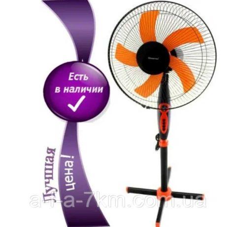 Напольный вентилятор с таймером Domotec MS-1620, вентилятор комнатный
