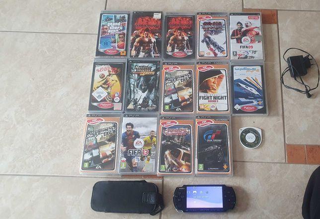 Konsola PSP portable - 14 gier