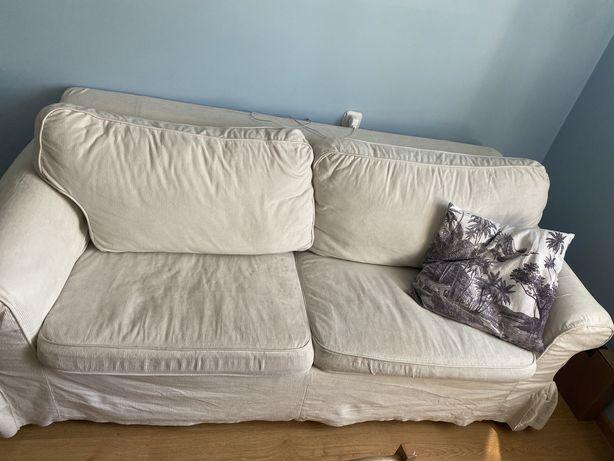 Rozkladana sofa i dodatkowy pokrowiec! SA TEZ 2 FOTELE! EKTORP IKEA