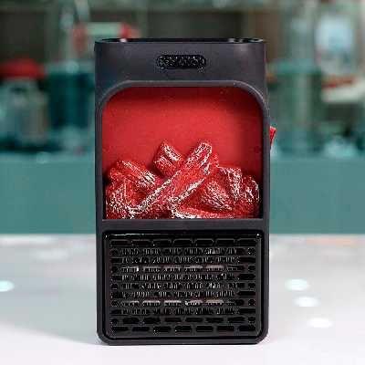 Мини обогреватель flame heater 500 Wt с пультом