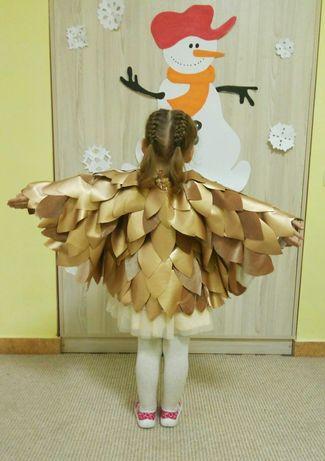 Карнавальный костюм Костюм совы Костюм сови Новогодний костюм платье