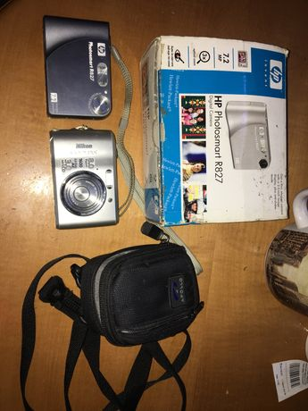 Aparat cyfrowy hp photosmart R827