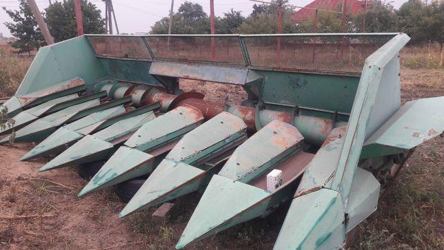 Жатка для уборки подсолнечника ПСП-10 на комбайн АКРОС