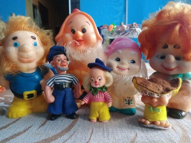 Куклы ретро. Резиновые.  Времен СССР.