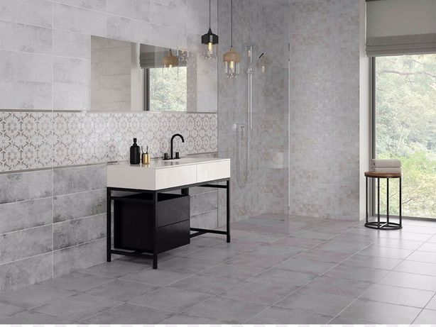 Соncrete style light grey плитка не дорого