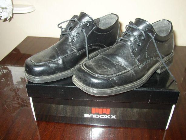 Buty czarne chłopięce - do komunii