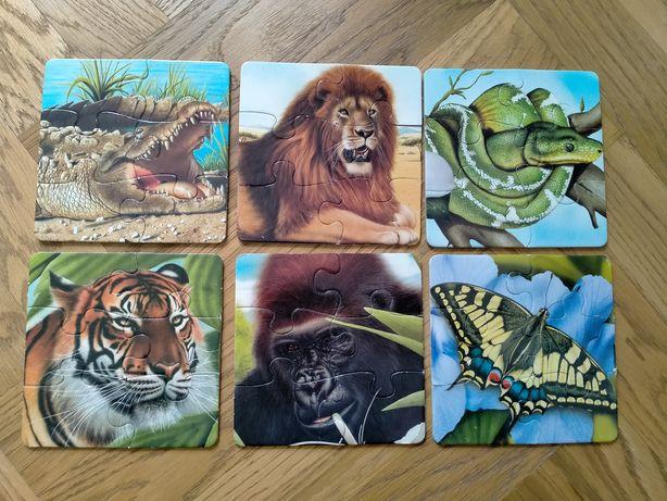 Puzzle zwierzęta