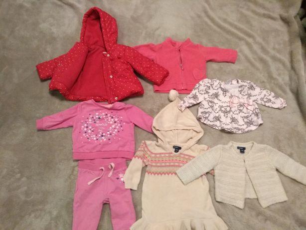 Ubranka niemowlęce dla dziewczynki 68