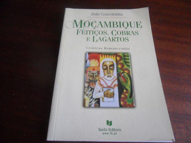 """""""Moçambique - Feitiços, Cobras e Lagartos"""" de João Craveirinha"""