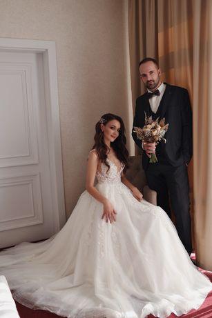 Брендова весільна сукня, весільне плаття, свадебное платье