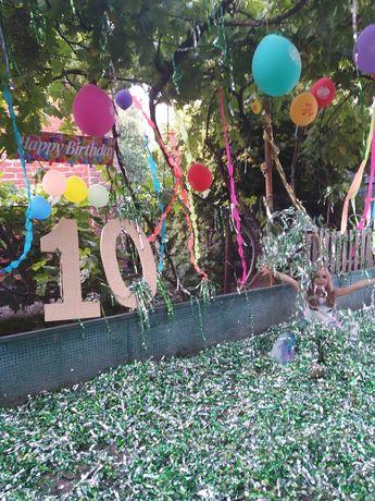 Цифра 10 на день рождения