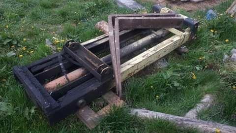 Winda ,podnośnik do traktora