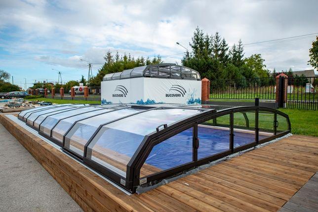 Nowoczesne zadaszenie basenu, zadaszenia basenowe z MONTAŻEM -Bucovers