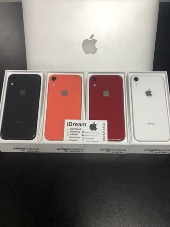 Apple iPhone Xr 64 gb Coral, Red , Black , White КАК НОВЫЕ с ГАРАНТИЕЙ