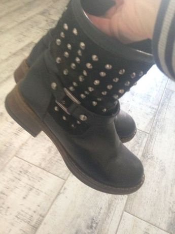 ботинки кожа турция