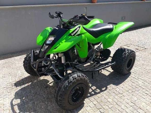 Vendo 3 motas, moto 4 Kawasaki kfx400, Kawasaki klx450r, pit bike 125