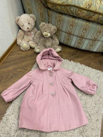 Красивое пальто Next (zara mone mona lisa) 2-3 года