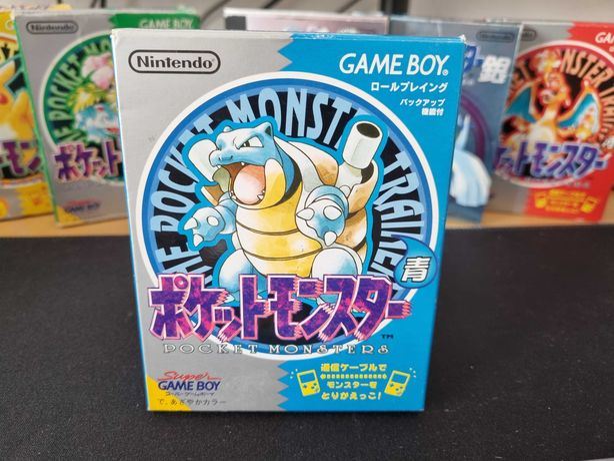 Pokémon Blue (JPN) - Game Boy / Color / Advance