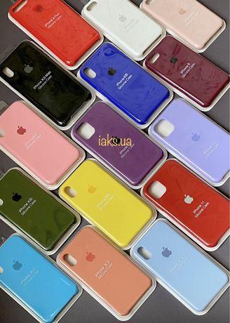 Чехол накладка silicone case iPhone силиконовый кейс бампер айфон 11