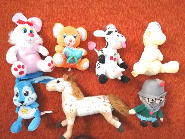 Мягкие музыкальные игрушки