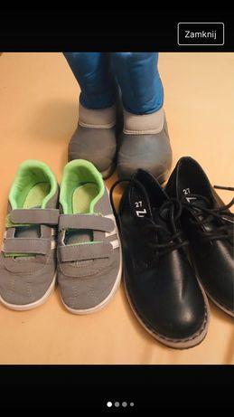 Zestaw butów 26-27 dla chlopca