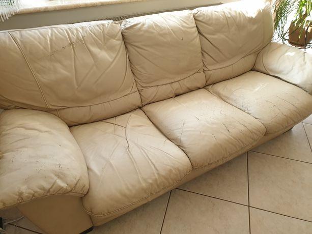 Sofa, kanapa skórzana Natuzzi