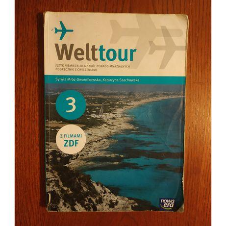 """,,Welttour 3"""" podręcznik z ćwiczeniami"""