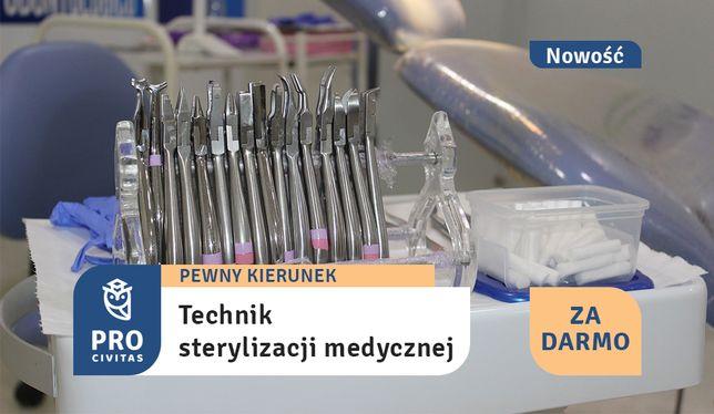 Zostań technikiem sterylizacji medycznej za darmo!