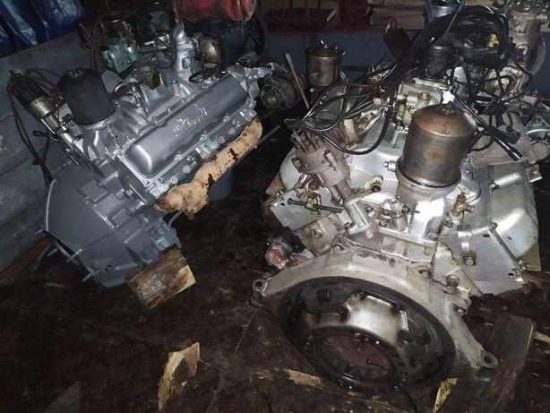 Мотор движок Зил 130 131 Урал 375 первой комплектности б/у, капремонт