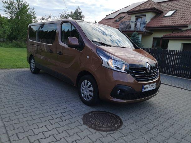 Bus do wynajęcia, wynajem busa, Nowy Renault Trafic 2018, 9 osobowy