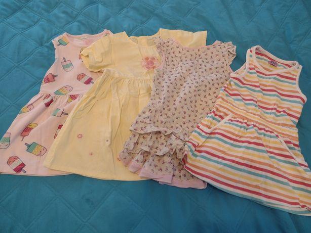 Sukienki dla dziewczynki rozmiar 86