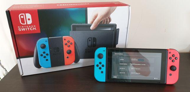 Konsola Nintendo Switch CFW 256GB rcm loader Mario Zelda Pokemon