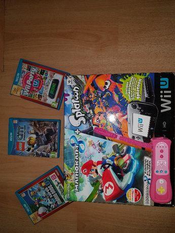 Consola Wii-U +Comando+Jogos