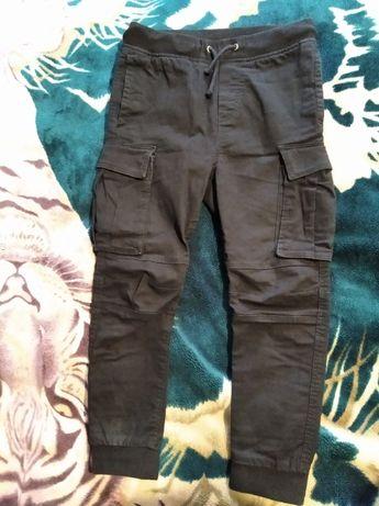 Штаны карго H&M 9-10Y 140 см в идеальном состоянии