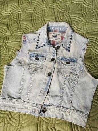 Kamizelka jeans ZARA - rozm. 164