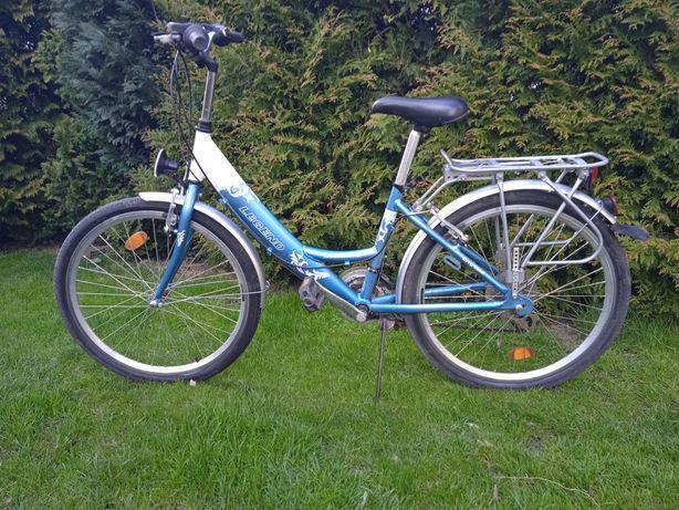 Rower dla dziewczynki.