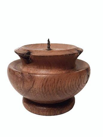 Подсвечник деревянный ручной работы