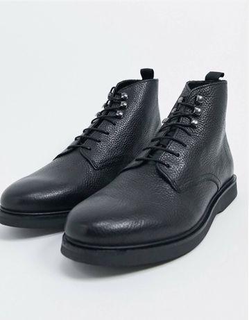 Демисезонные ботинки H by Hudson, натуральная кожа, размер 10UK-11US