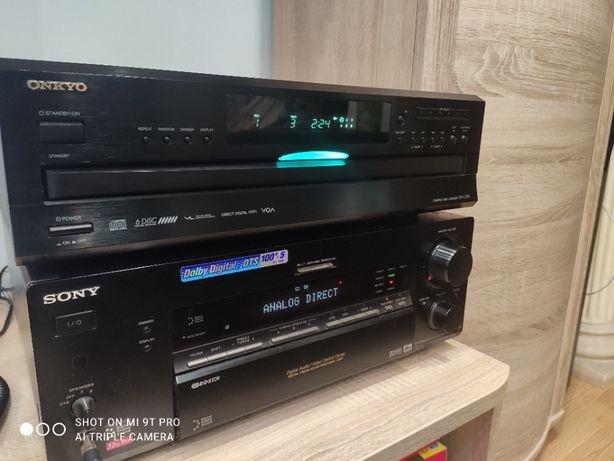 йOnkyo DX C390 Проигрыватель CD/MP3 6 дисков 100$