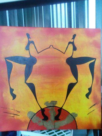 Quadro cultura africana