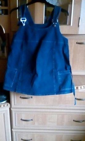 Spodnie i bluzka ciążowe zestaw