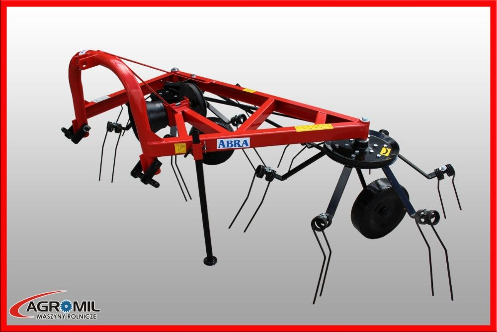 Przetrząsacz karuzelowy karuzela zgrabiarka Abra 5 ramienny 6 pająk Rogóźno - image 1