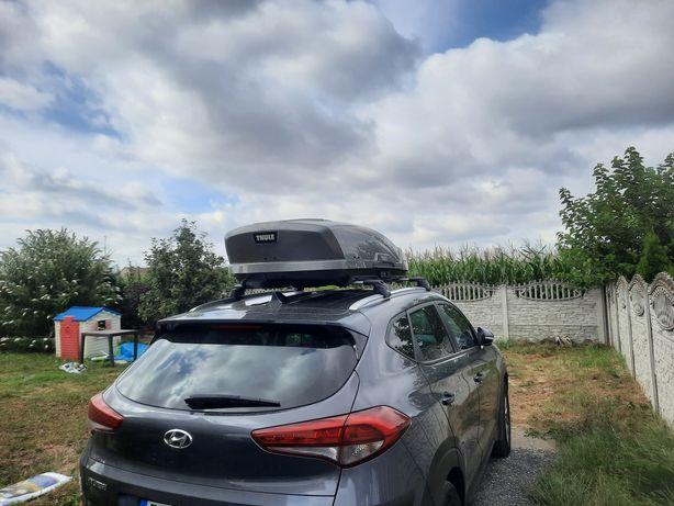 Box dachowy Thule Motion XT M 400 L szary   + bagażnik dachowy