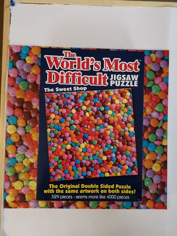 Paul Lamond Games, World's Most Difficult Jigsaw Puzzle - Sweet Shop