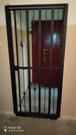 Решетка дверная изготовление
