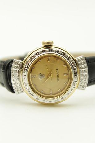 Золотые часы Versace